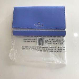 Kate spade ♠️ Phoenix delphiniums wallet WLRU2237